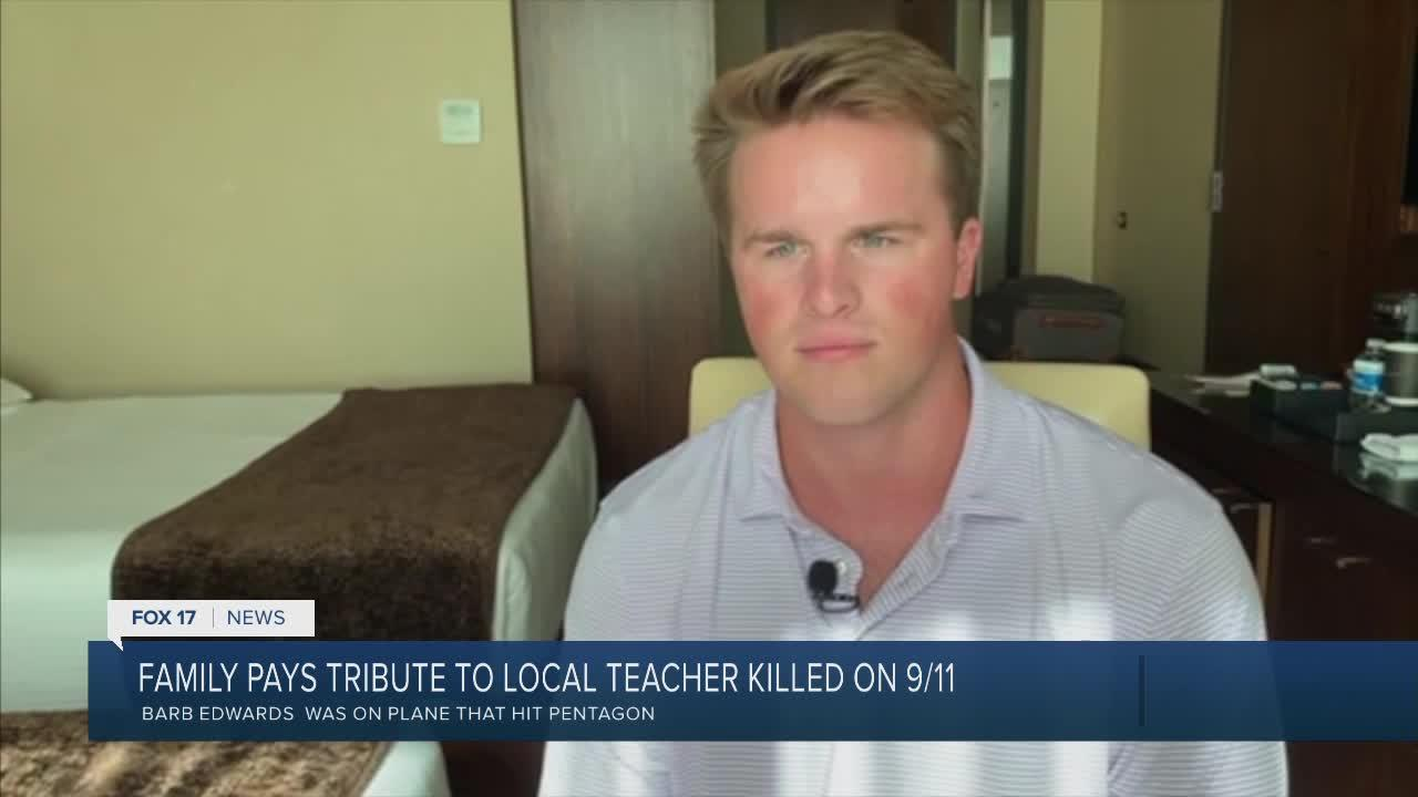 Family pays tribute to local teacher killed on 9/11