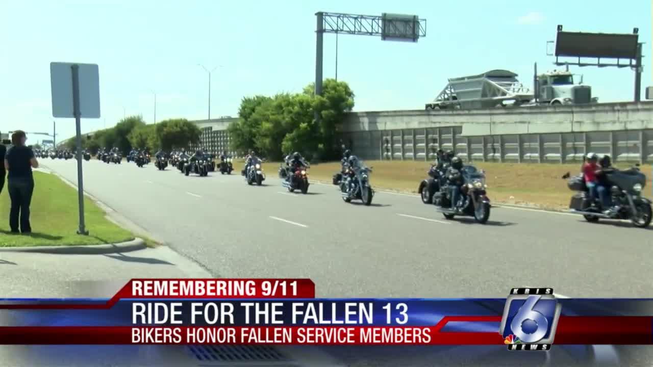 Corpus Christi Harley Davidson honors 13 fallen in Afghanistan