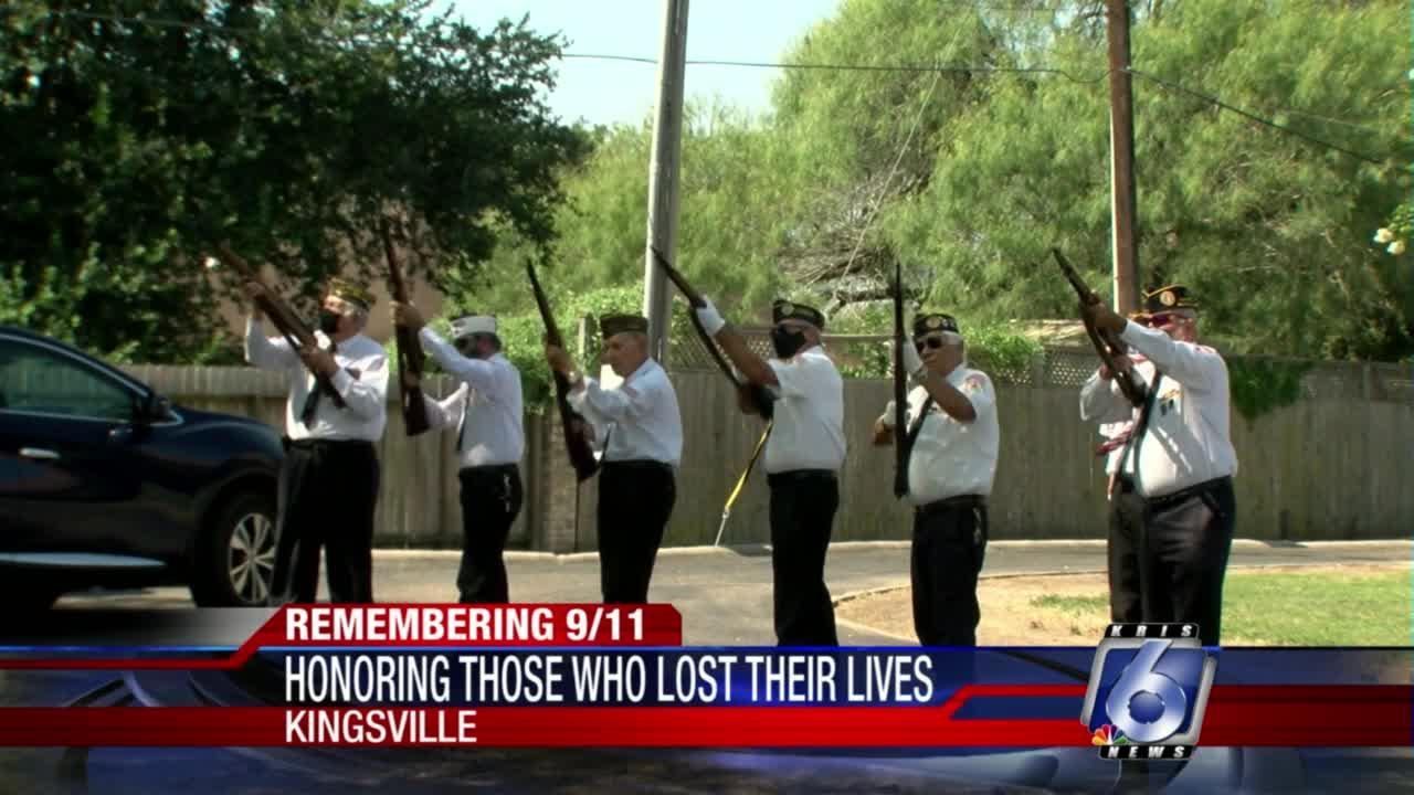 Kingsville community comes together to remember September 11 attacks