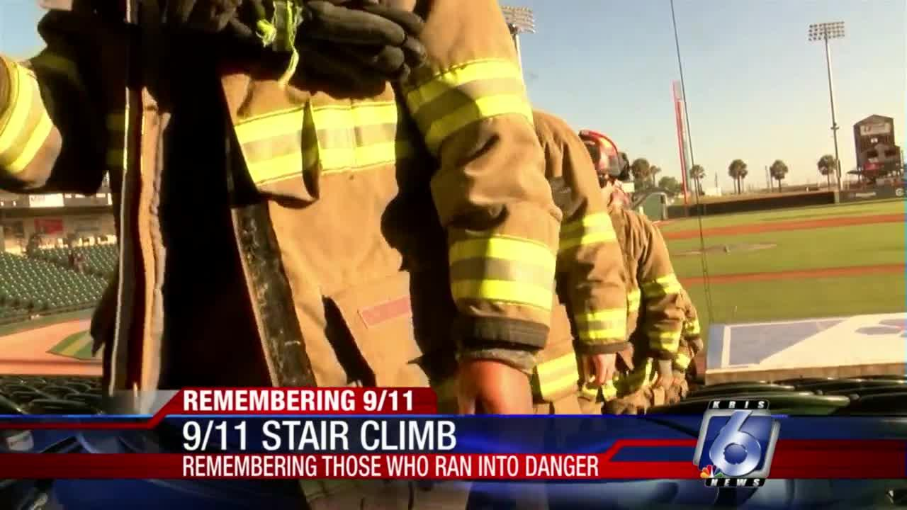 Whataburger Field hosts stair climb to honor 9/11 first responders