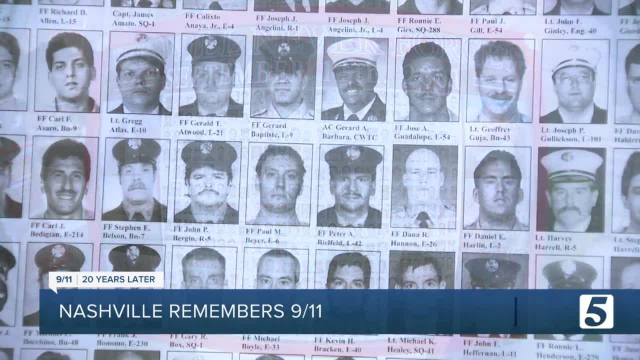 Nashville remembers 9/11