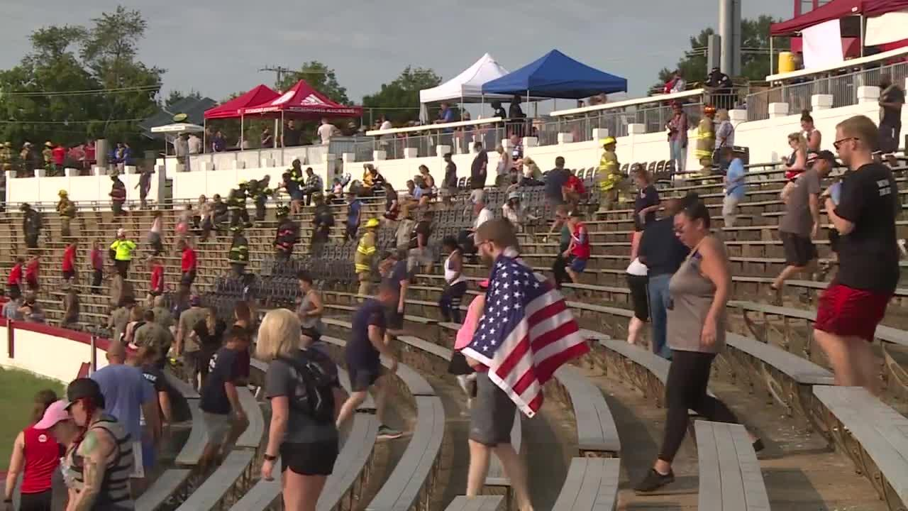 'We have to walk for them,' firefighter says at Richmond 9/11 Memorial Stair Climb