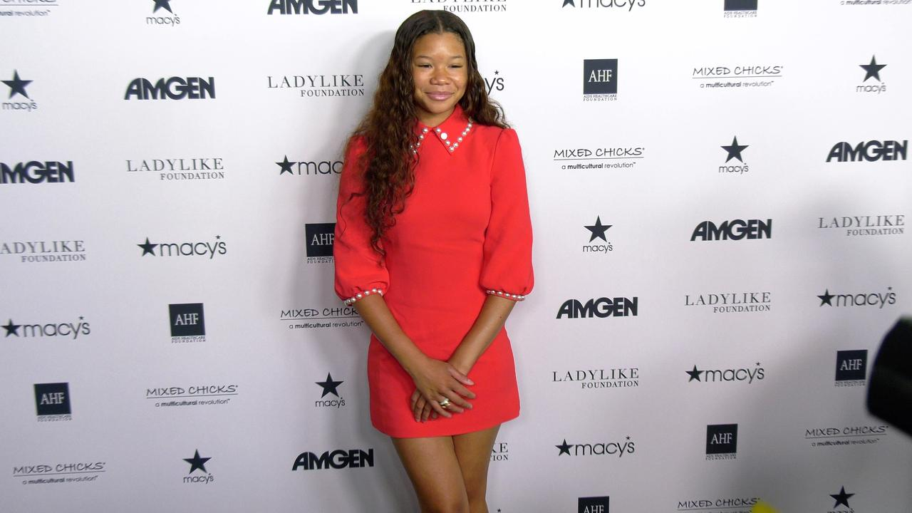 Storm Reid 'LadyLike Foundation's 12th Annual Women of Excellence Awards' Red Carpet