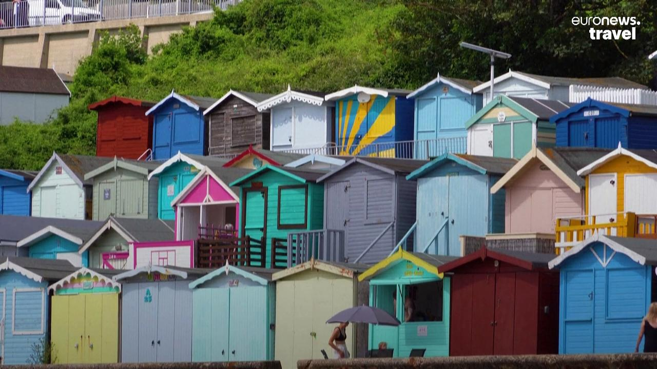 Rained off? Beach huts are the very British way to spend time in damp seaside towns