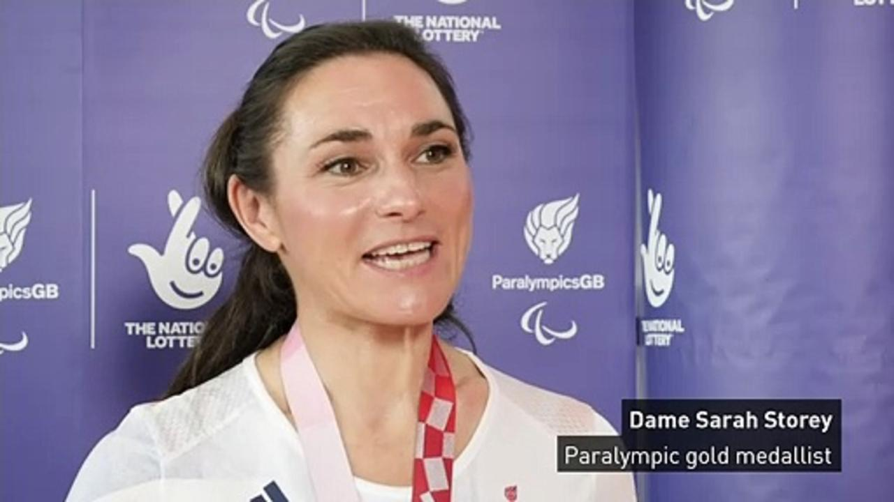 Sarah Storey: 'Huge honour' to be UK's greatest Paralympian