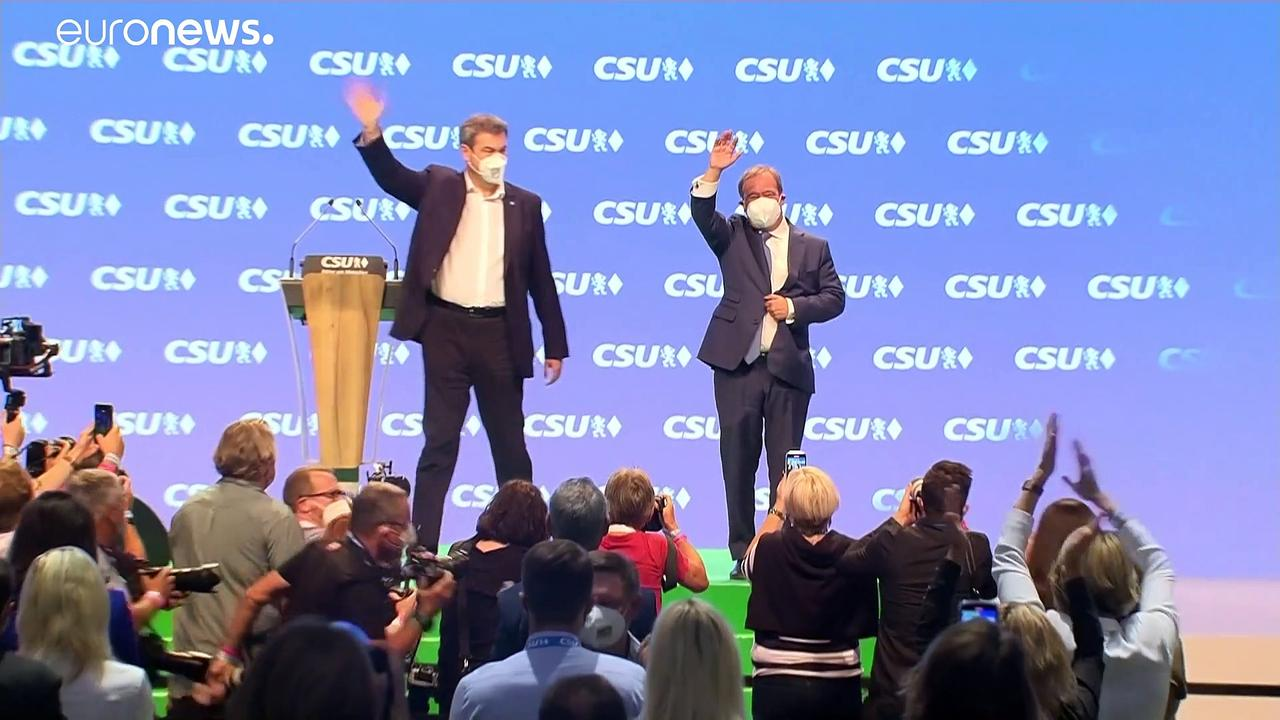 Germany's ruling coalition trails in polls, two weeks before election