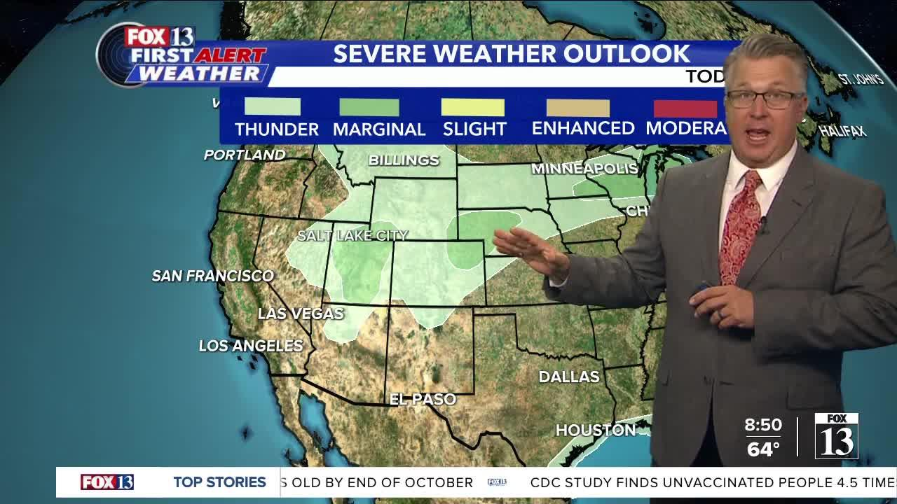 Saturday morning weather forecast (Sept. 11)