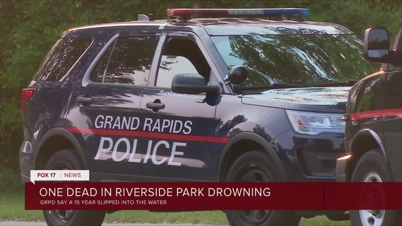 One dead in riverside park drowning