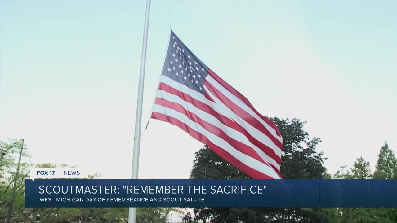 Scouts and scoutmasters remember the sacrifice