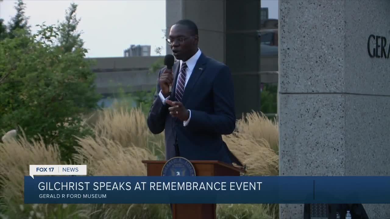 Lt. Gov. speaks at rememberance event