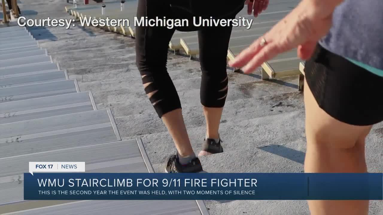 WMU stairclimb for firefighters