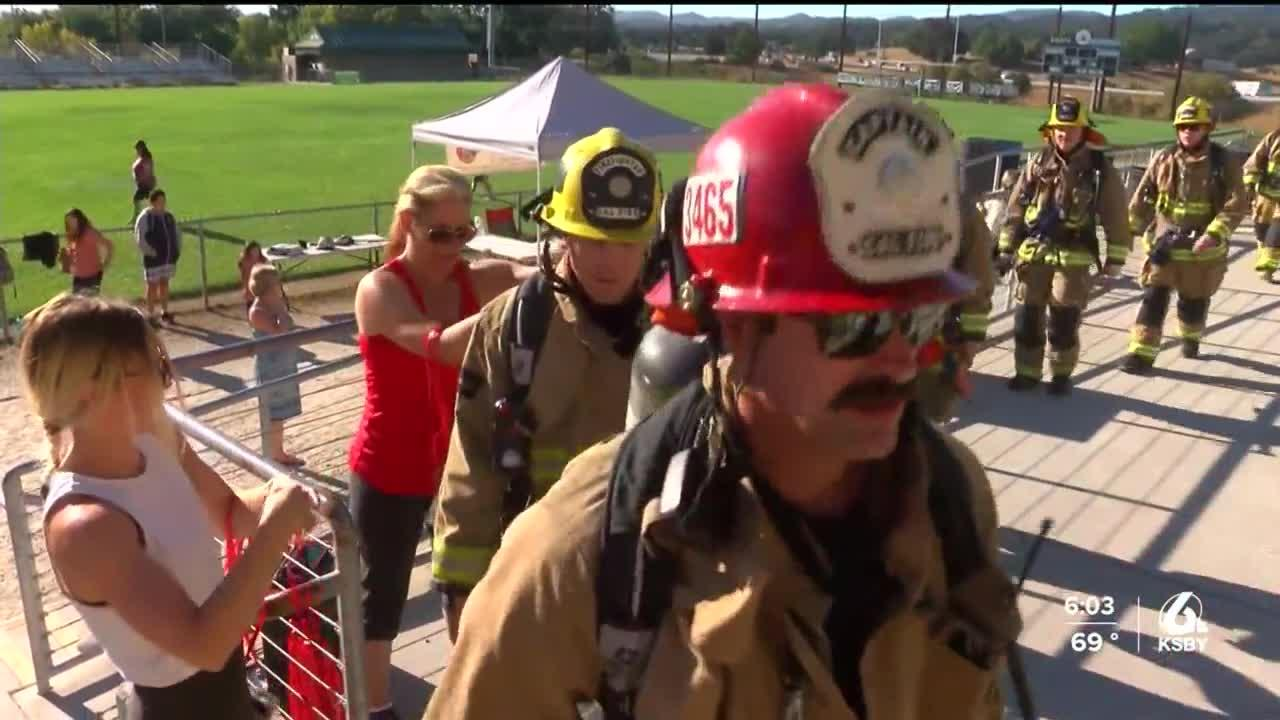 Local fire departments honor 9/11 victims in remembrance stair climbs