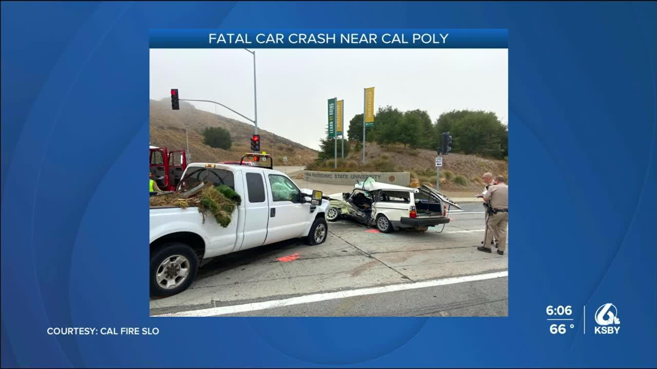 Teenage driver dies in vehicle collision near Cal Poly