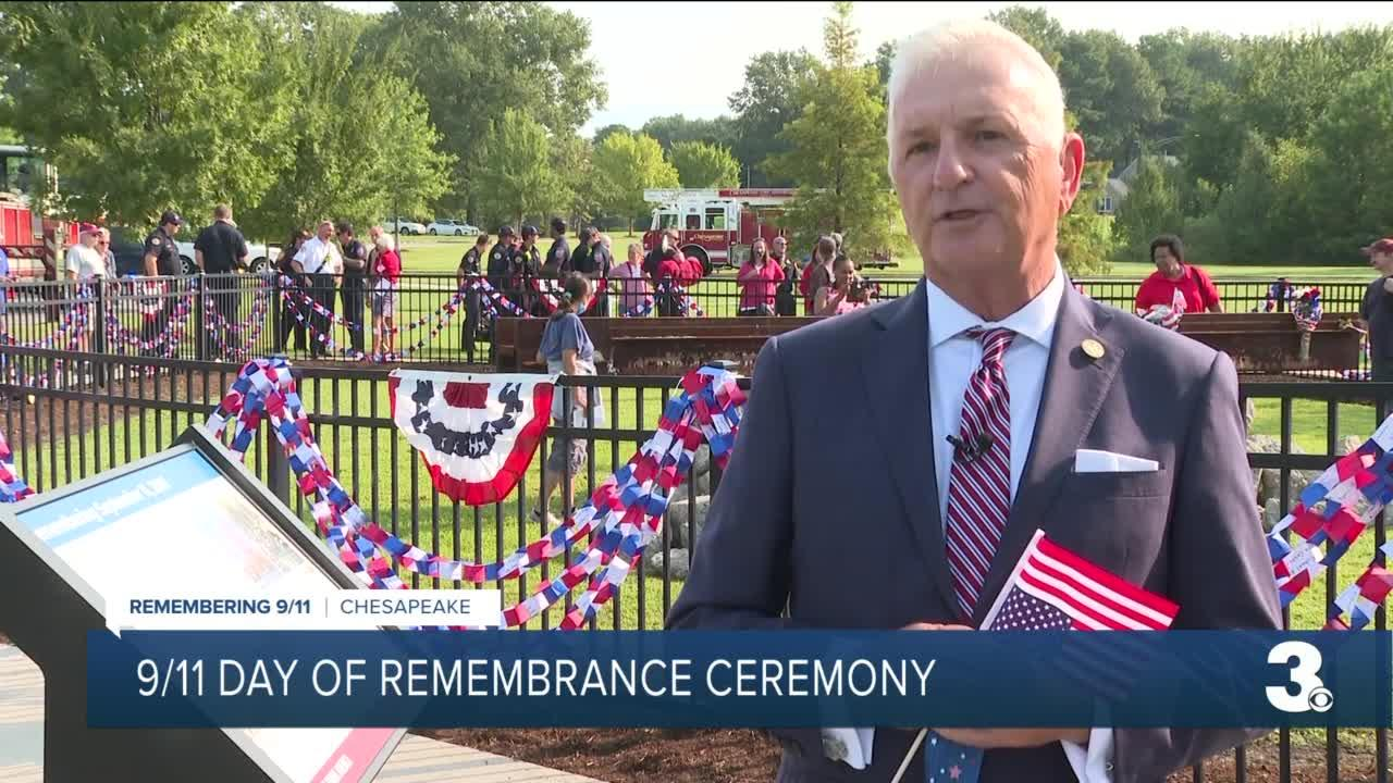 9/11 Day of Remembrance ceremony