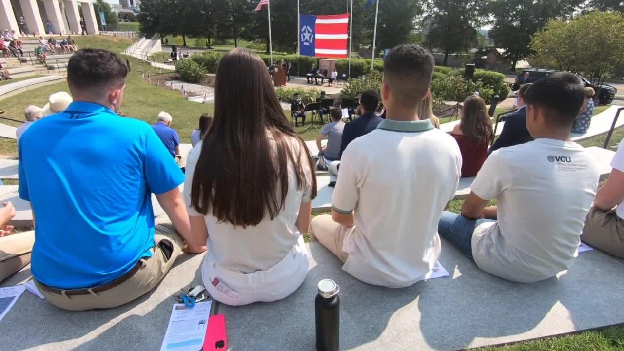 Virginia marks 20th anniversary of 9/11: 'Share my story'