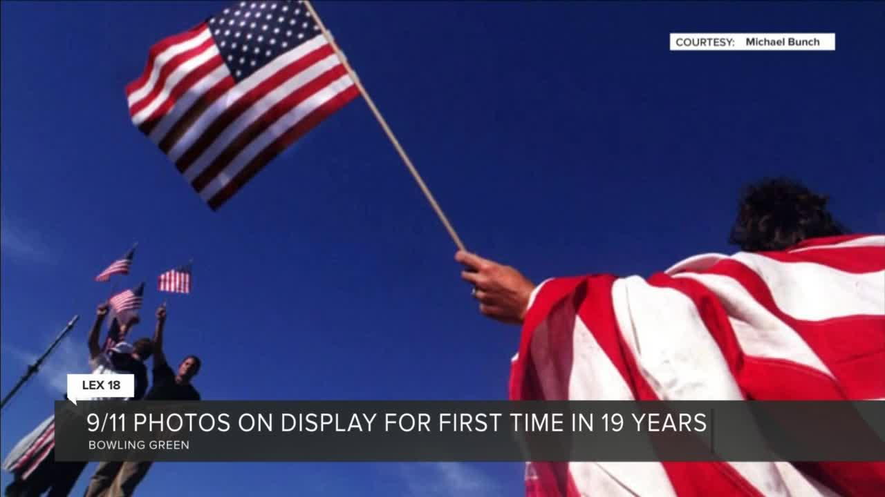 9/11 photos on display for first time in 19 years