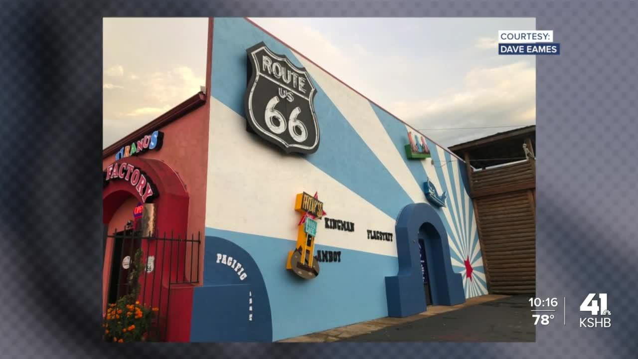 Lee's Summit metal artists help revitalize Route 66 near St. Robert, Missouri
