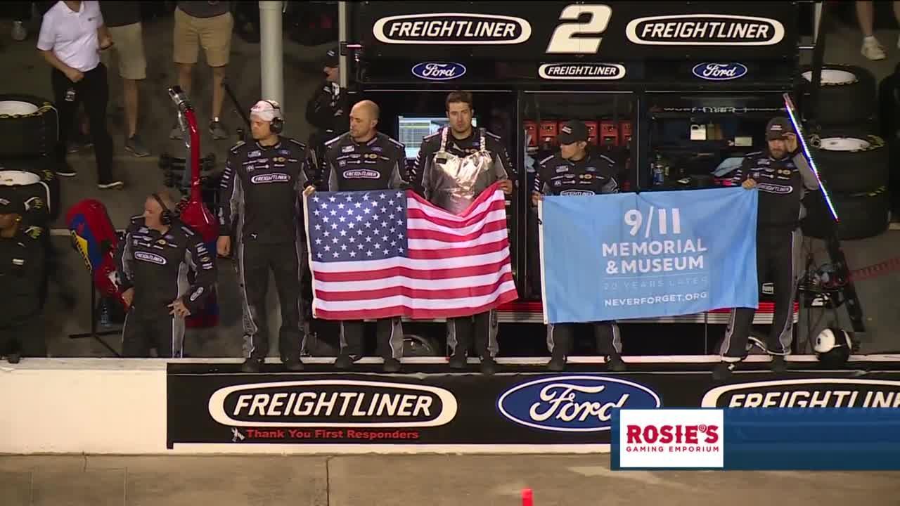 9/11 tribute at Richmond Raceway