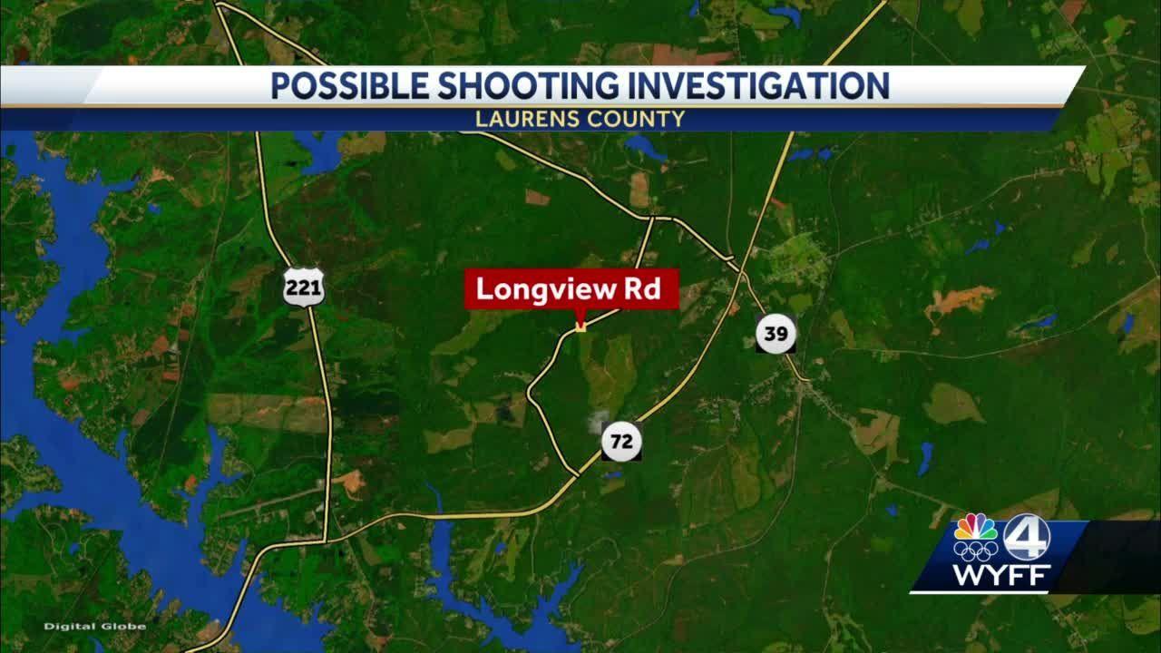 Laurens County Possible shooting