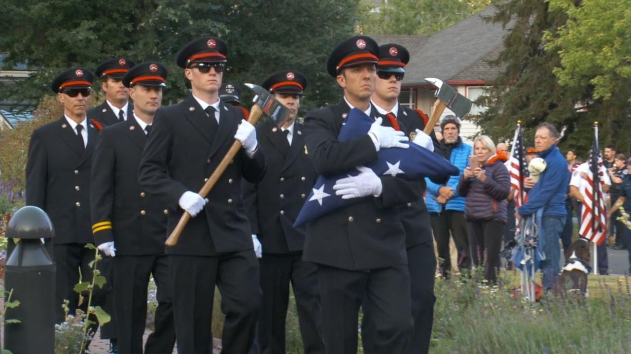 Ex-FDNY battalion chief joins former Gov. Herbert, others at 9/11 anniversary event