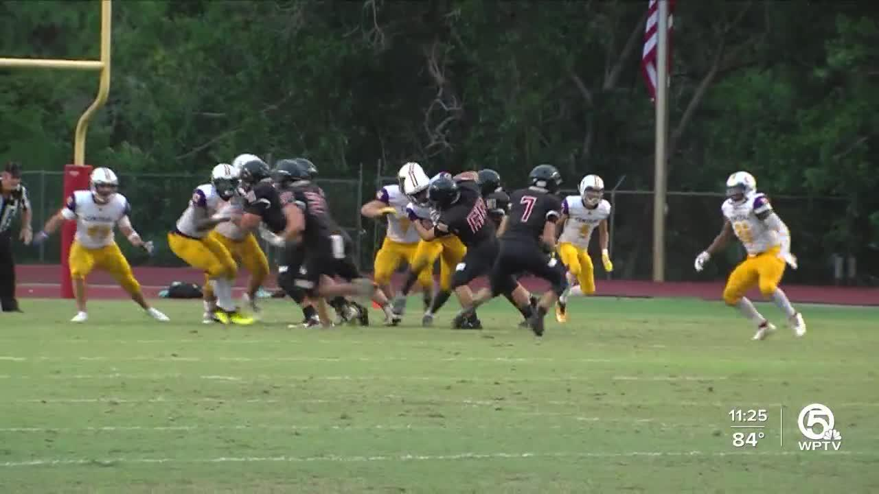Fort Pierce Central beats South fork 36-8 in rescheduled game