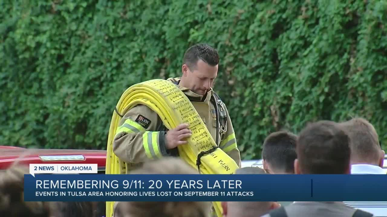 Green Country honors the lives lost on September 11th attacks