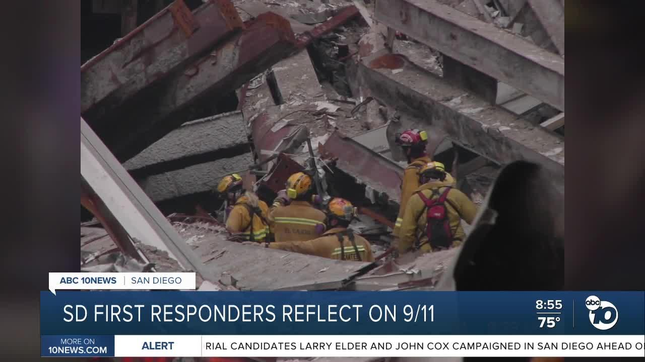SD First responders reflect on 9/11