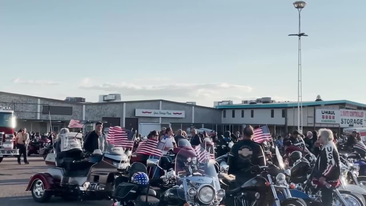 Motorcyclists ride in Great Falls to honor 9/11 victims