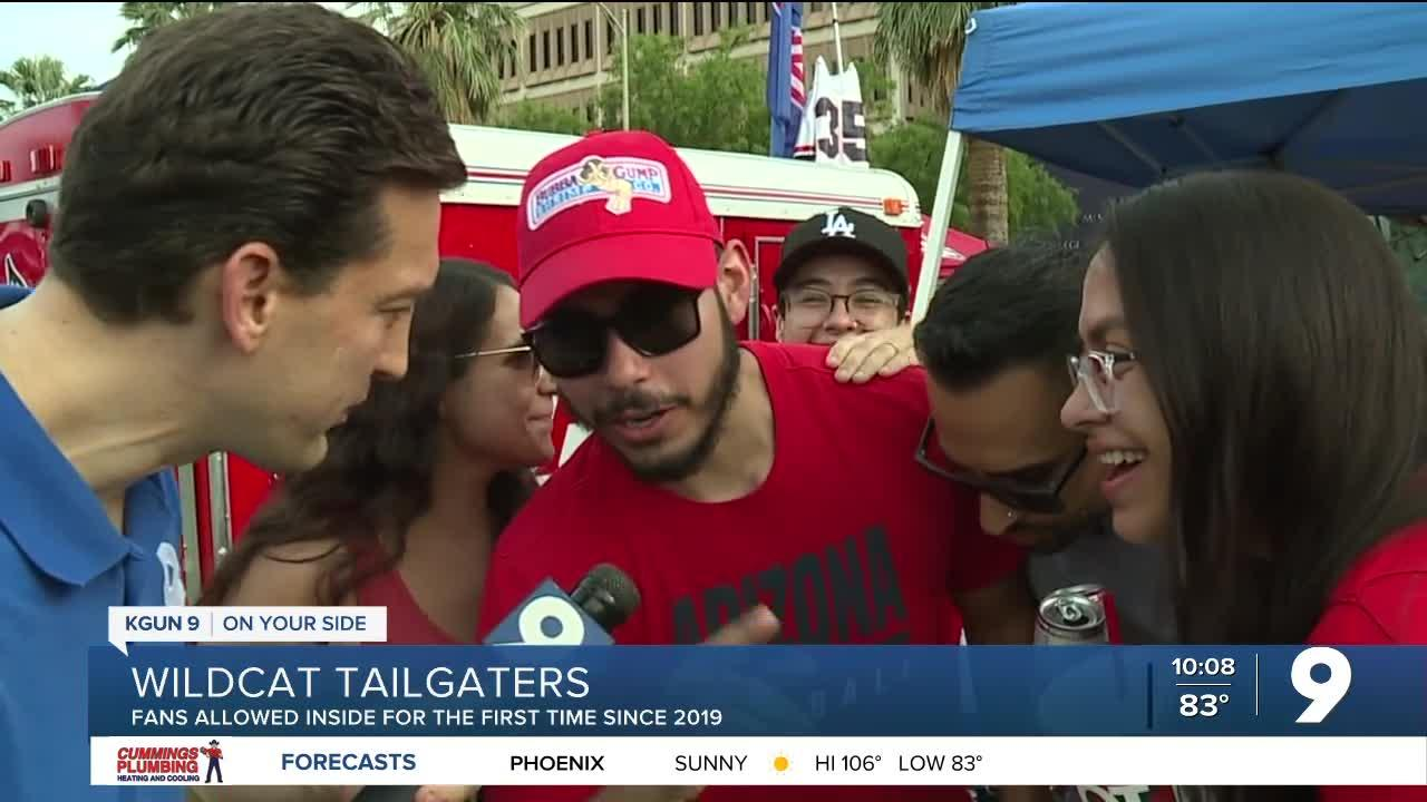 Wildcat tailgaters hopeful for the new season