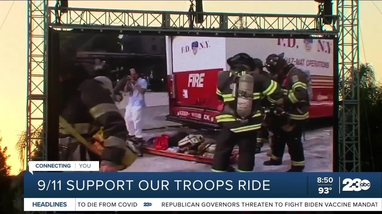 9/11 Memorial Ride in Bakersfield