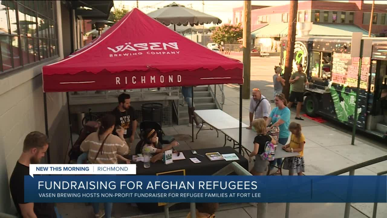 Richmond brewery raises money for Afghan refugees