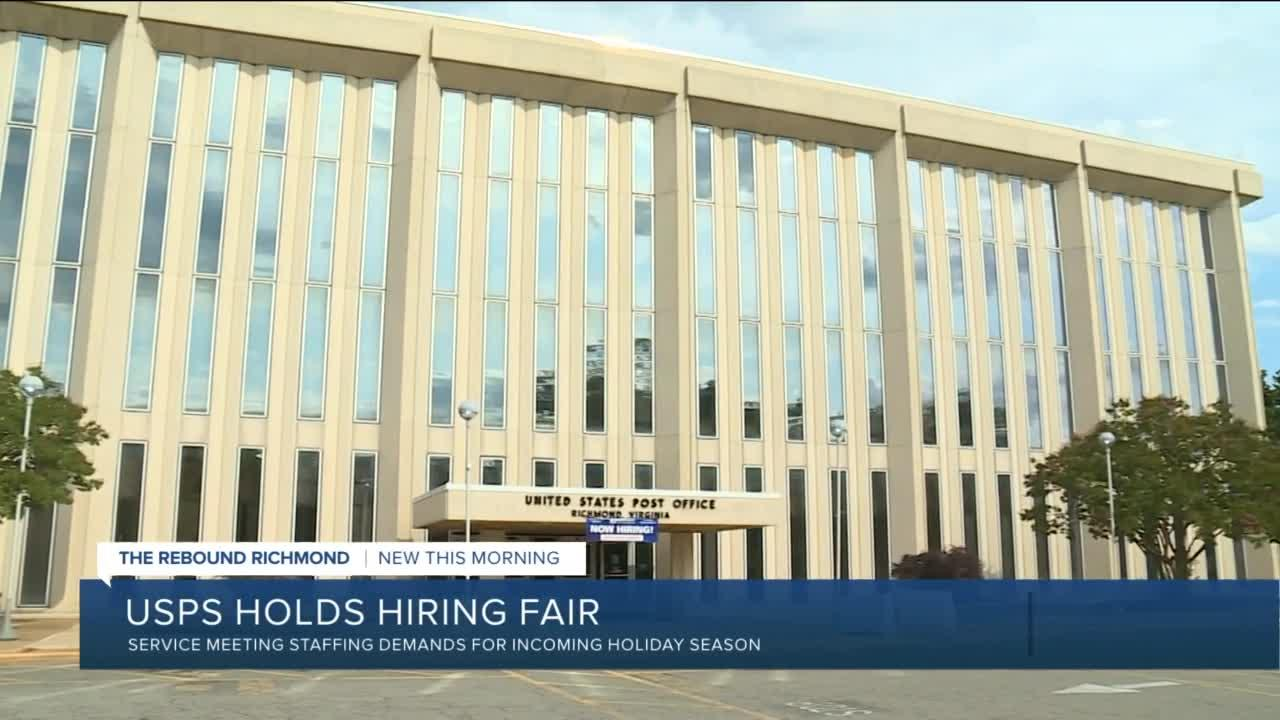 USPS holds hiring fair in Richmond