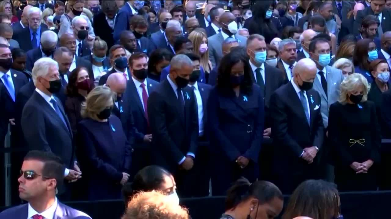 Nation marks 20th anniversary of 9/11