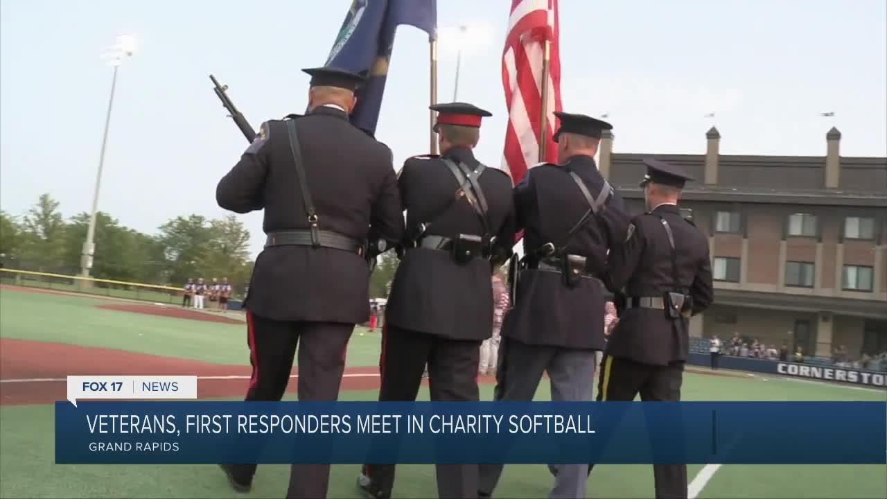 Softball game honors 9/11