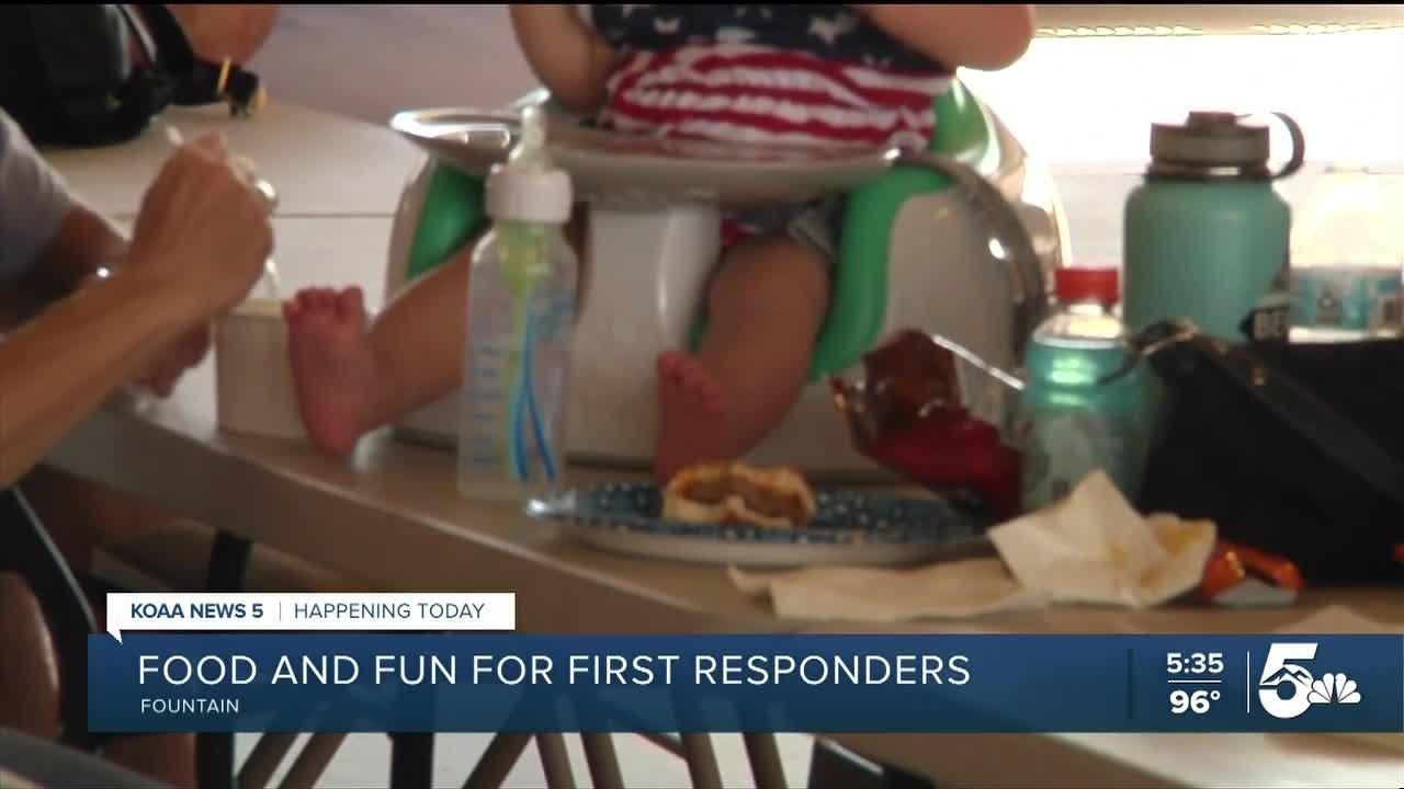 FOUNTAIN FIRST RESPONDERS EVENT