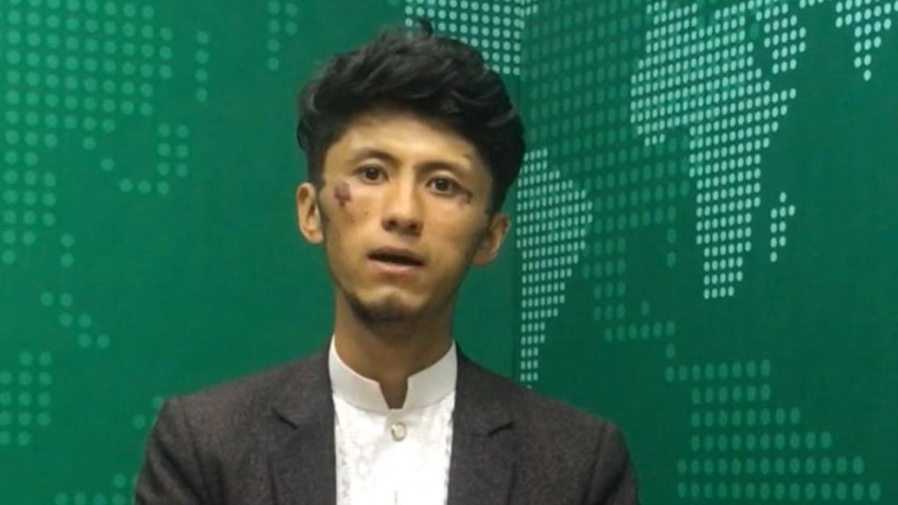 Journalists say these videos show they were beaten by Taliban