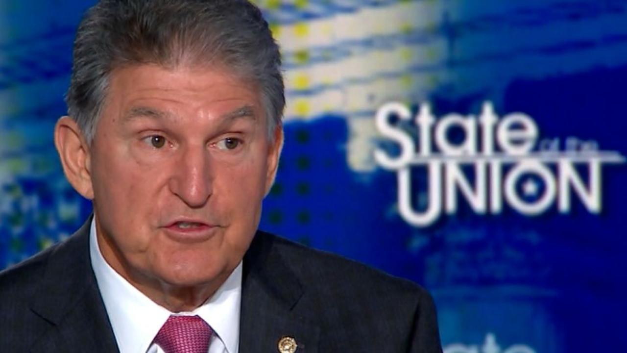 'Will not have my vote': Manchin explains opposition to $3.5 trillion economic package