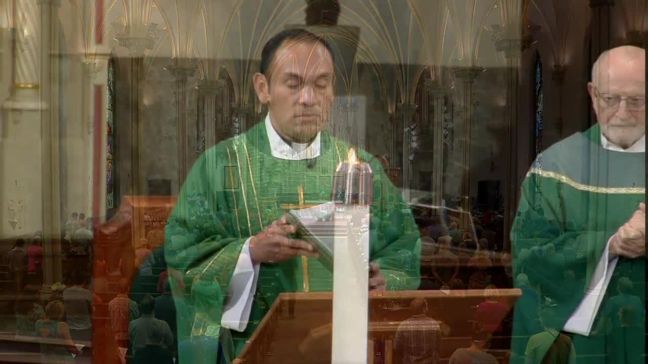 Sunday Mass from the Cathedral of Saint Andrew in Grand Rapids (Sept. 12)