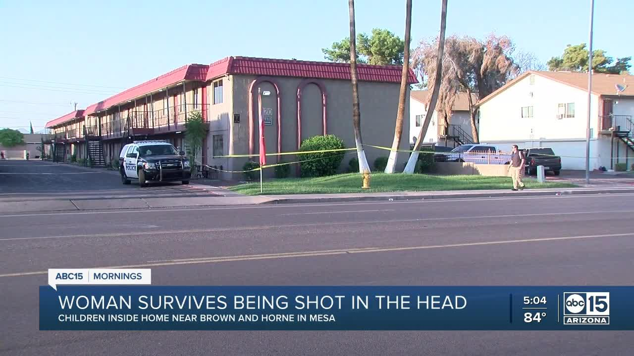 Man arrested after alleged shooting at Mesa apartment