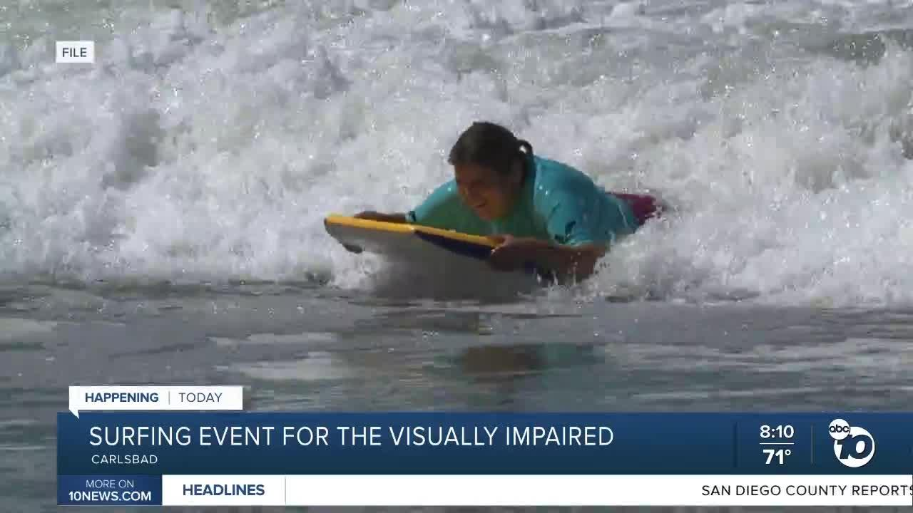 Suring event for the visually impaired