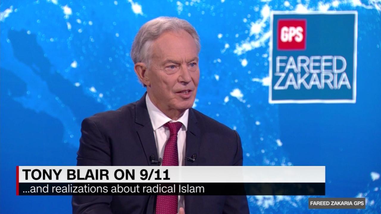 On GPS: Tony Blair on twenty years of the War on Terror