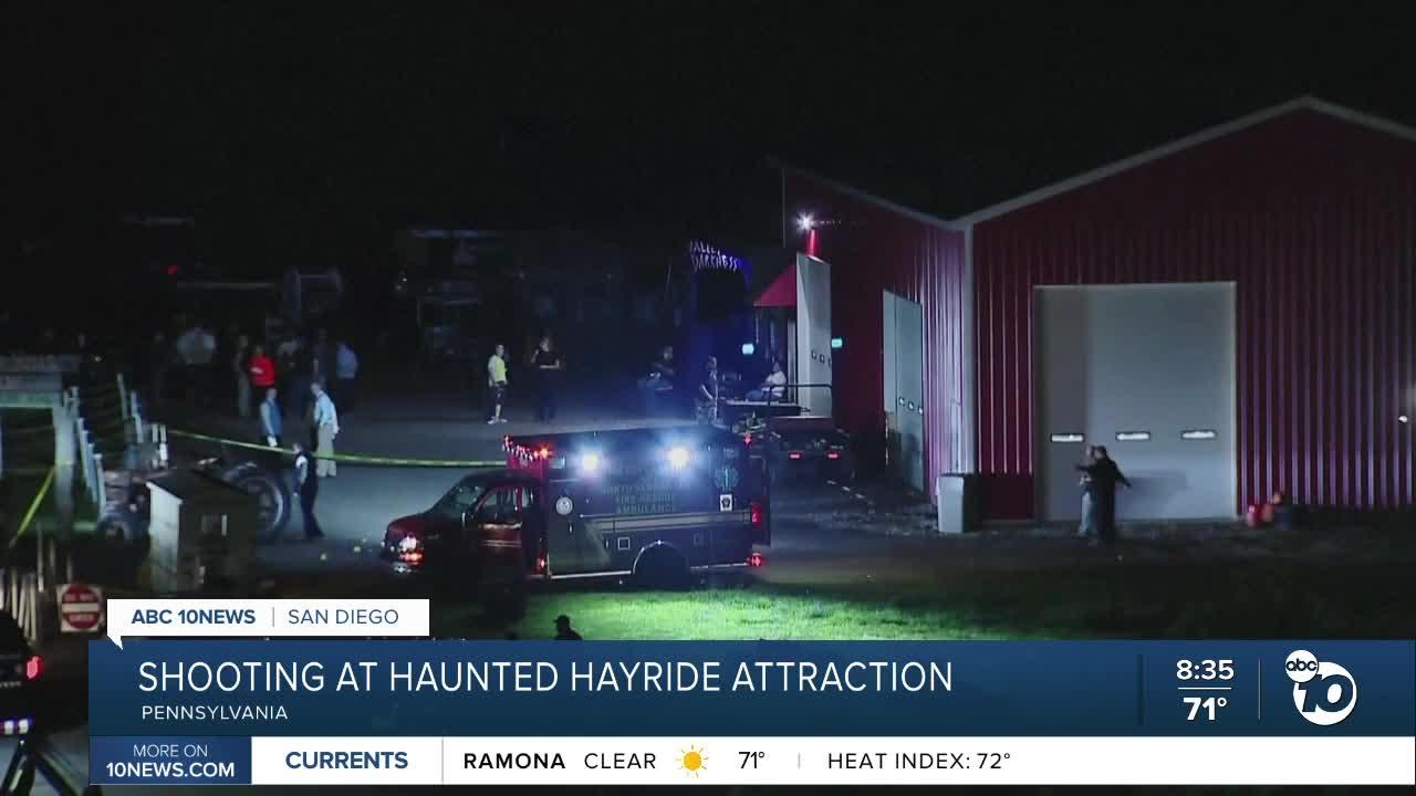 Deadly shooting at Haunted Hayride in Pennsylvania
