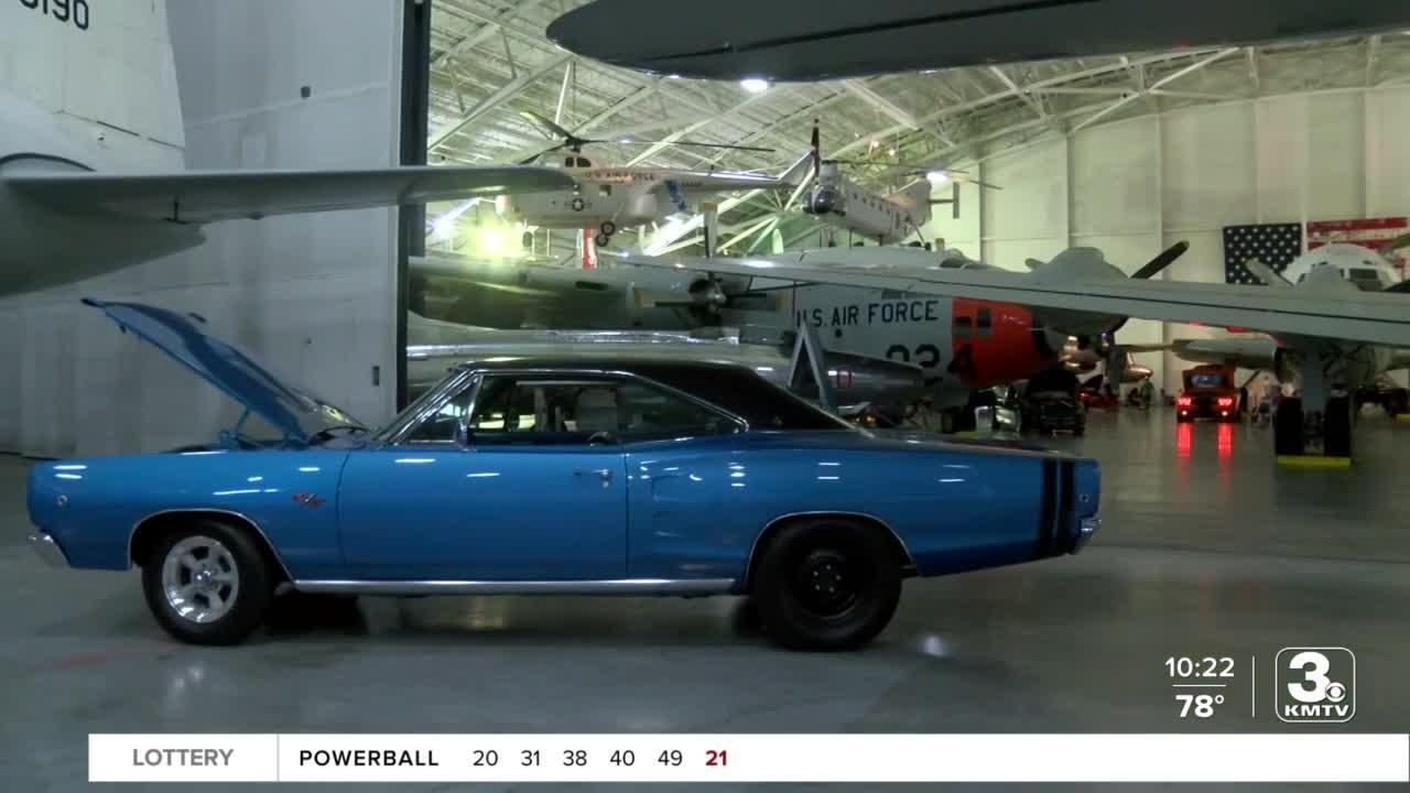 MOPAR Car Show at Strategic Air Command & Aerospace Museum; a unique way to study American History