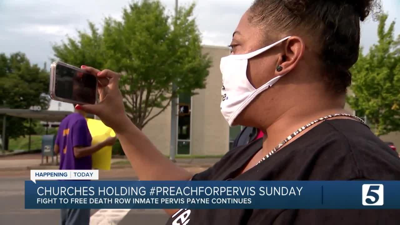 Local pastors preach for death row inmate's innocence