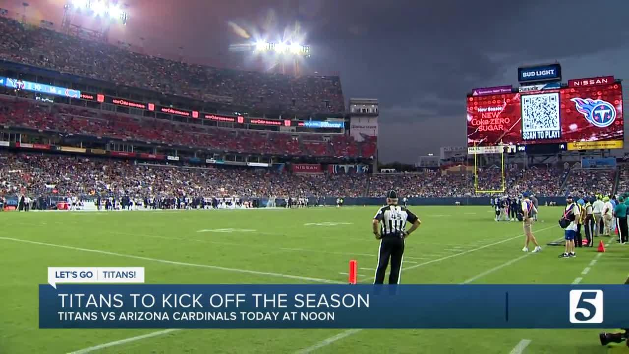 What to know before you go to the Titans home opener