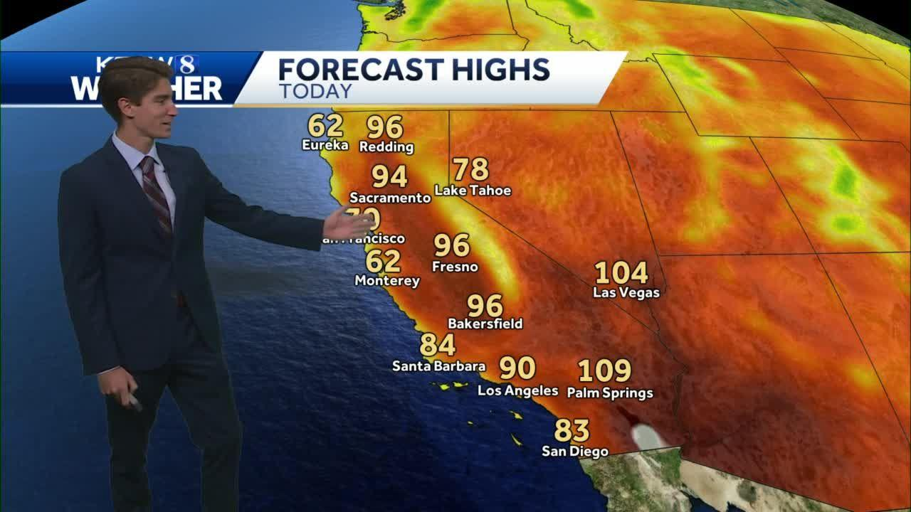 Warm and Sunny Conditions for Your Central Coast Sunday Forecast