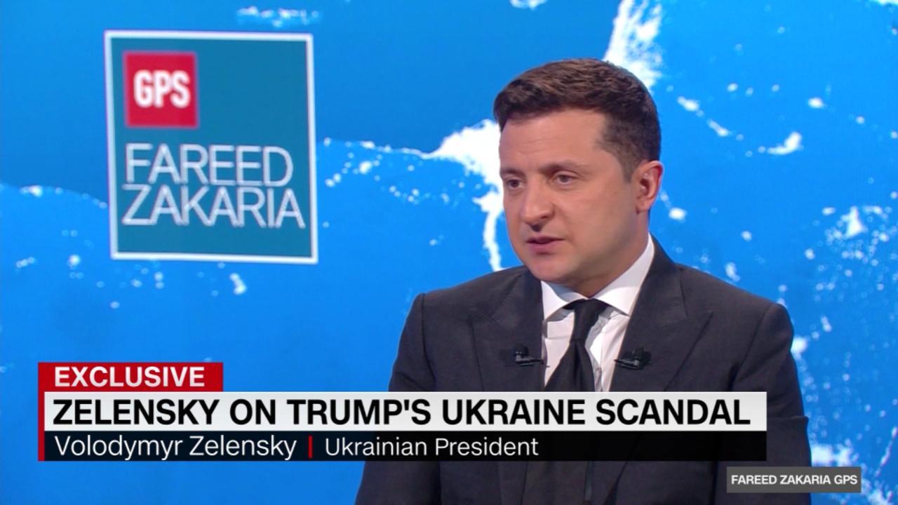 On GPS: Did President Zelensky feel pressured by Trump?