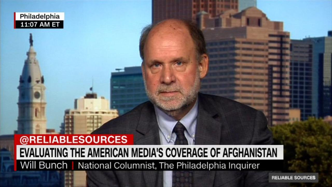 Columnist: Press saw Afghanistan as a chance to 'pounce' on Biden