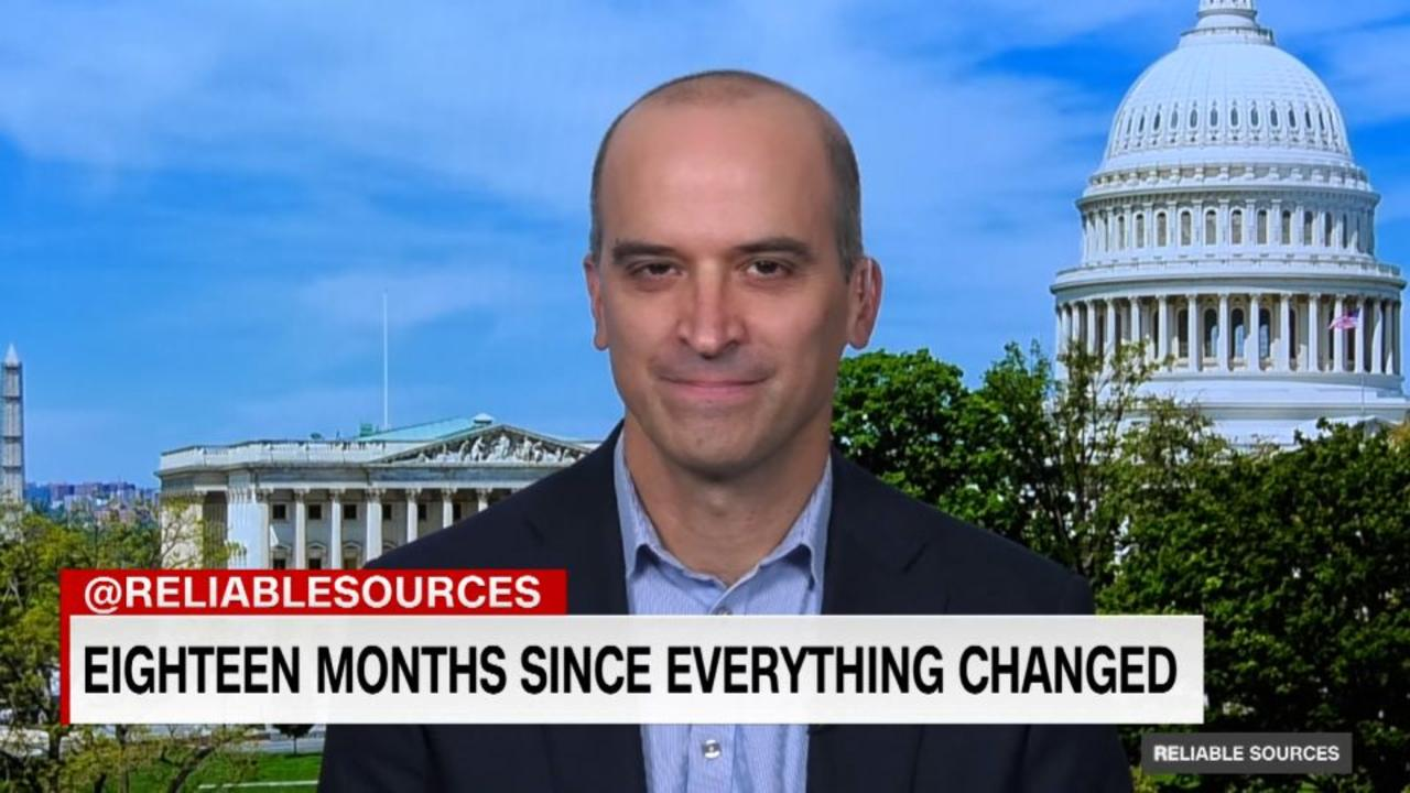 David Leonhardt reassures vaccinated adults about Covid risk