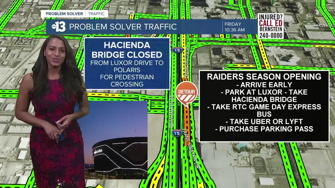 How to get to Allegiant Stadium for Raiders MNF game